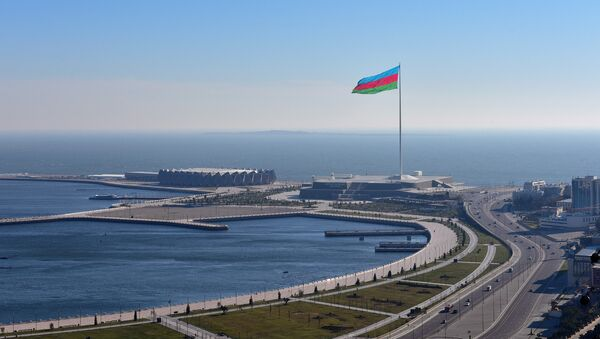 Bakı, Bayraq meydanı, Kristal zalı - Sputnik Azərbaycan