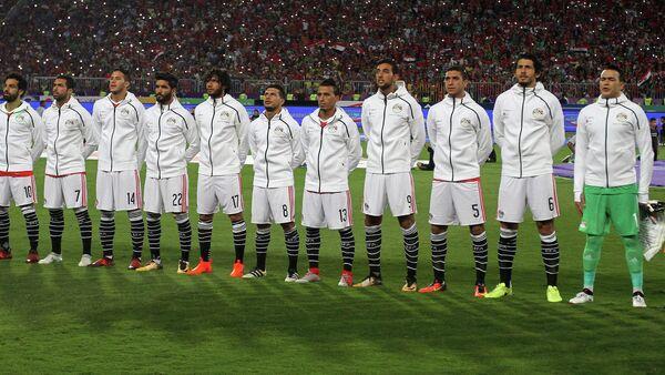 Футболисты сборной Египта - Sputnik Азербайджан