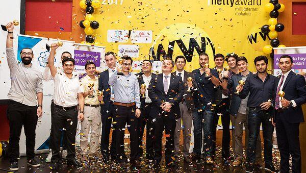 Церемония вручения национальной интернет-премии Netty, фото из архива - Sputnik Азербайджан