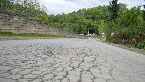 Текущее состояние автотрассы Тахтанакеран-Мики на территории Астаринского района - Sputnik Азербайджан
