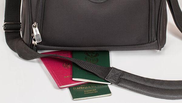 Паспорта разных стран, фото из архива - Sputnik Азербайджан