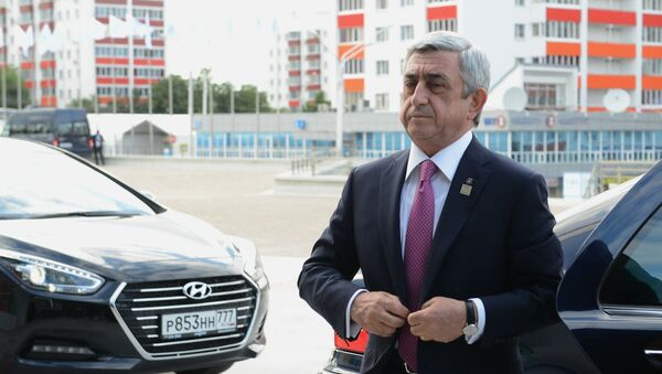Серж Саргсян - Sputnik Азербайджан