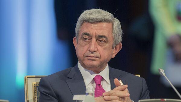 Серж Саргсян - Sputnik Azərbaycan