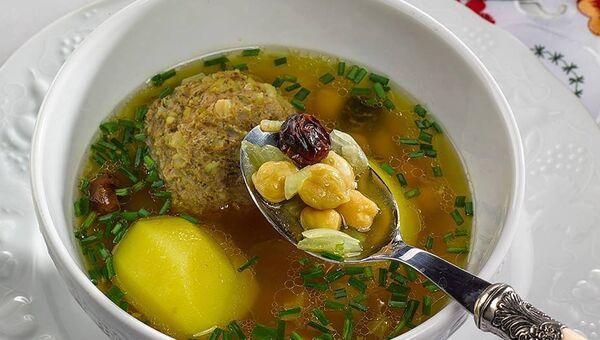 Азербайджанское национальное блюдо кюфта-бозбаш - Sputnik Азербайджан