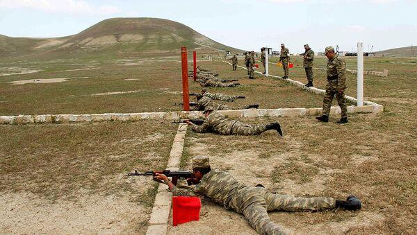Первенство по военному пятиборью среди военнослужащих - Sputnik Азербайджан