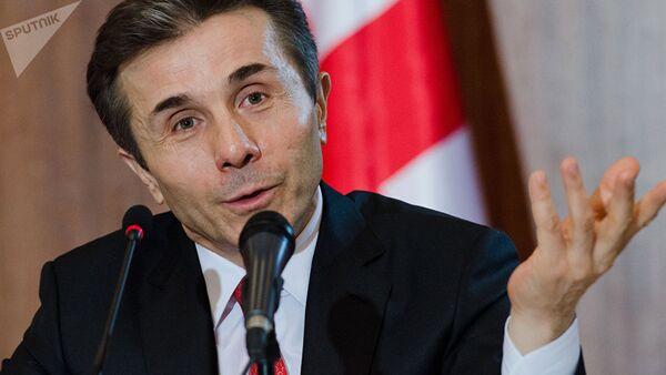 Основатель правящей партии Грузинская мечта – демократическая Грузия, миллиардер Бидзина Иванишвили - Sputnik Азербайджан