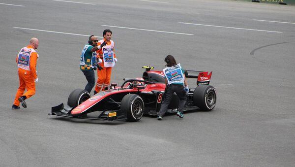 Первые основные соревнования в классе FIA Formula-2 в Баку - Sputnik Azərbaycan