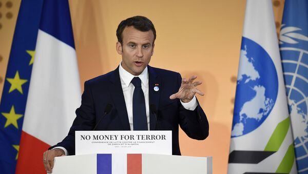 Fransa prezidenti Emmanuel Makron - Sputnik Azərbaycan
