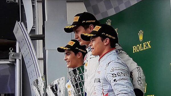 Определился победитель последней автогонки FIA Formula 2 в Баку - Sputnik Азербайджан