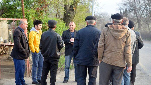 Жители села Агдам Товузского района - Sputnik Азербайджан