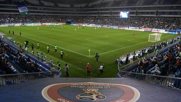 Стадион Самара Арена, где пройдут матчи чемпионата мира по футболу 2018 - Sputnik Азербайджан