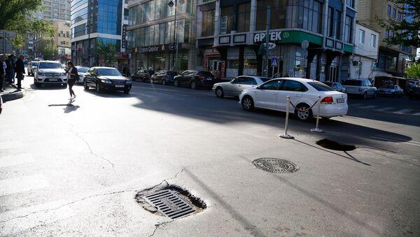 Улица Гасана Алиева в Насиминском районе Баку, архивное фото - Sputnik Азербайджан