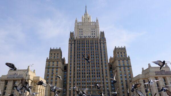 Здание МИД России - Sputnik Азербайджан