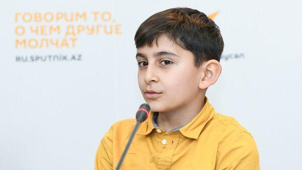 Участник Ты супер! Намик Джабраилов - Sputnik Азербайджан