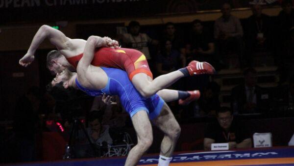 Выступление азербайджанских борцов на Чемпионате мира по борьбе-2018 в городе Каспийск, Россия - Sputnik Азербайджан