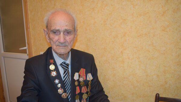 İkinci dünya müharibəsi iştirakçısı Baba Əliyev - Sputnik Azərbaycan