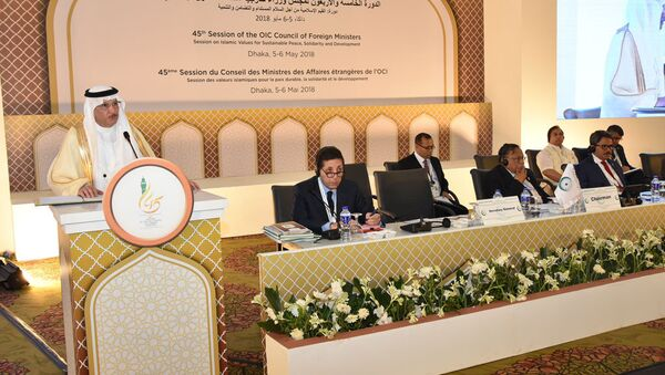 Сессия Совета министров иностранных дел стран-членов ОИС в Дакке - Sputnik Азербайджан