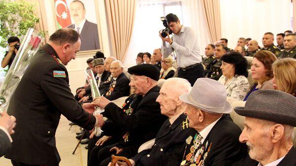 Встреча с ветеранами Великой Отечественной войны - Sputnik Азербайджан
