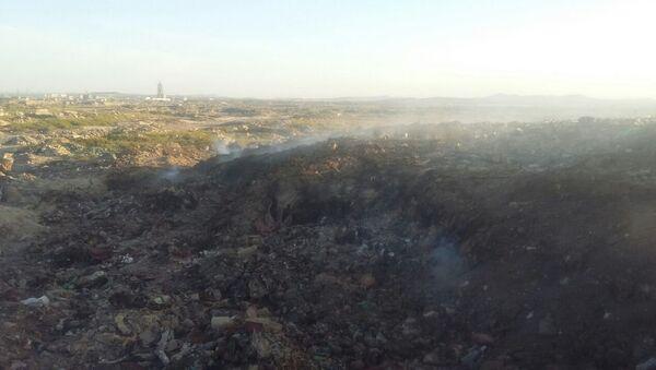 Полигон бытовых отходов в Сумгайыте - Sputnik Азербайджан
