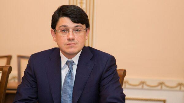 Председатель Государственного комитета по работе с диаспорой Азербайджана Фуад Мурадов - Sputnik Азербайджан