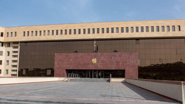 Ermənistan Müdafiə Nazirliyinin binası - Sputnik Azərbaycan