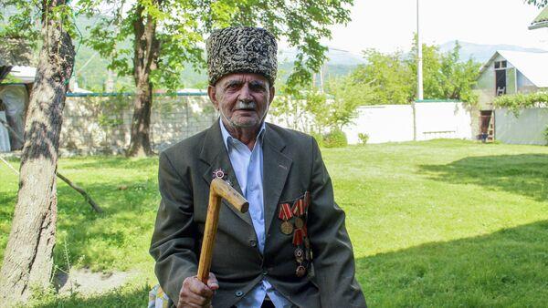 İkinci dünya müharibəsi iştirakçısı Mahmud Motuxov - Sputnik Azərbaycan