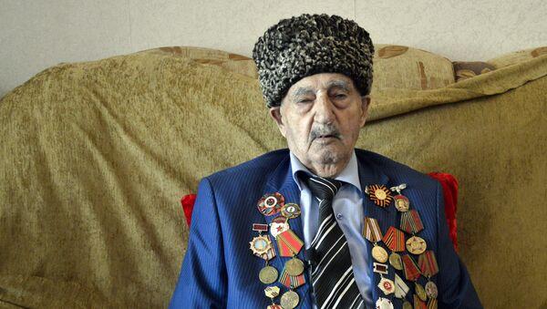 İkinci dünya müharibəsi iştirakçısı Mir Məhəmməd Əliyev - Sputnik Azərbaycan