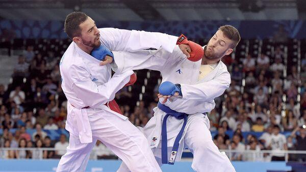 Karate yarışları, arxiv şəkli - Sputnik Azərbaycan