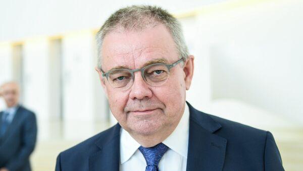Генеральный директор радиостанции Говорит Москва Владимир Мамонтов - Sputnik Азербайджан