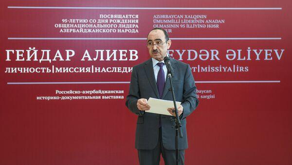 Помощник Президента АР по общественно-политическим вопросам Али Гасанов - Sputnik Azərbaycan
