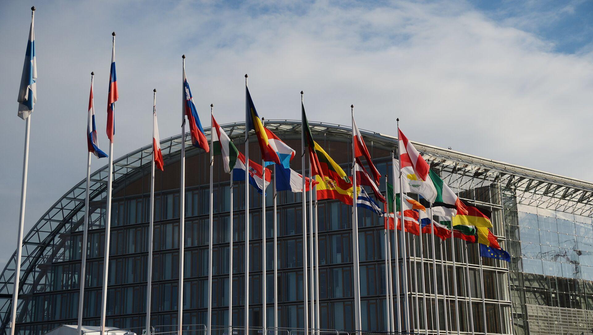 Здание Европейского банка реконструкции и развития в Люксембурге - Sputnik Азербайджан, 1920, 06.02.2021