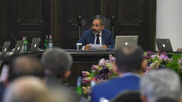 Заседание правительства Армении (11 мая 2018). Еревaн - Sputnik Azərbaycan