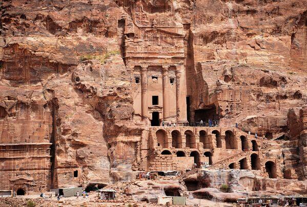 Древний город Петра в Иордании - Sputnik Азербайджан