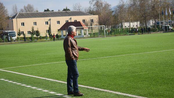 Главный тренер футбольного клуба Туран (Товуз) Аскер Абдуллаев - Sputnik Азербайджан