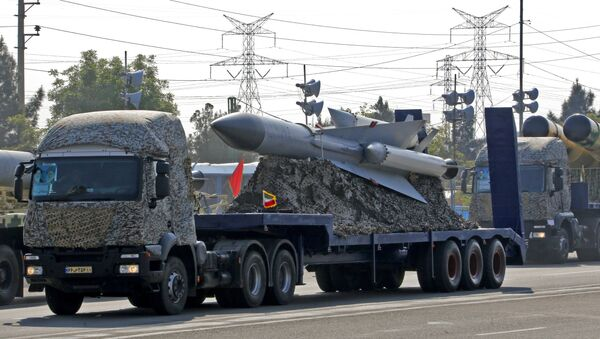 İran hava hücumundan müdafiə sistemi, arxiv şəkli - Sputnik Azərbaycan
