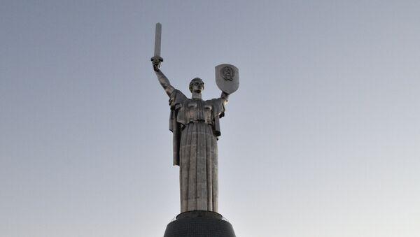 Kiyevdə Ana Vətən monumenti - Sputnik Azərbaycan