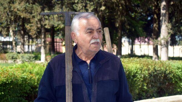 Житель Товузского района Фариз Ахмедов - Sputnik Азербайджан