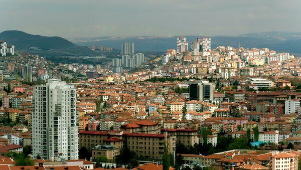 Вид на город Анкара - Sputnik Азербайджан