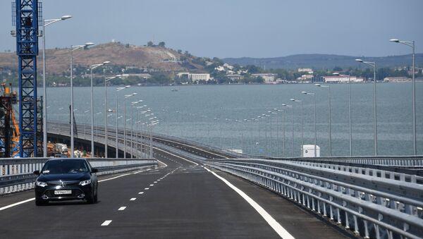 Открытие моста через Керченский пролив - Sputnik Азербайджан