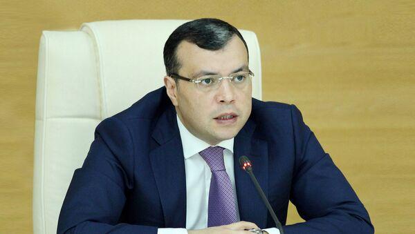 Azərbaycan Respublikasının əmək və əhalinin sosial müdafiəsi naziri Sahil Babayev - Sputnik Azərbaycan