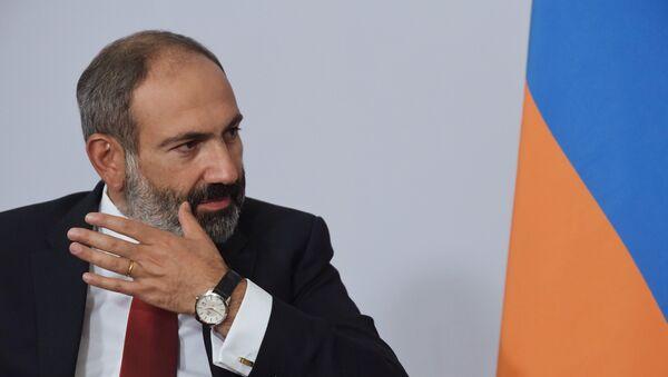 Премьер-министр Армении Никол Пашинян - Sputnik Azərbaycan