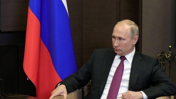 Президент РФ В. Путин встретился в Сочи с главой Сирии Б. Асадом - Sputnik Азербайджан
