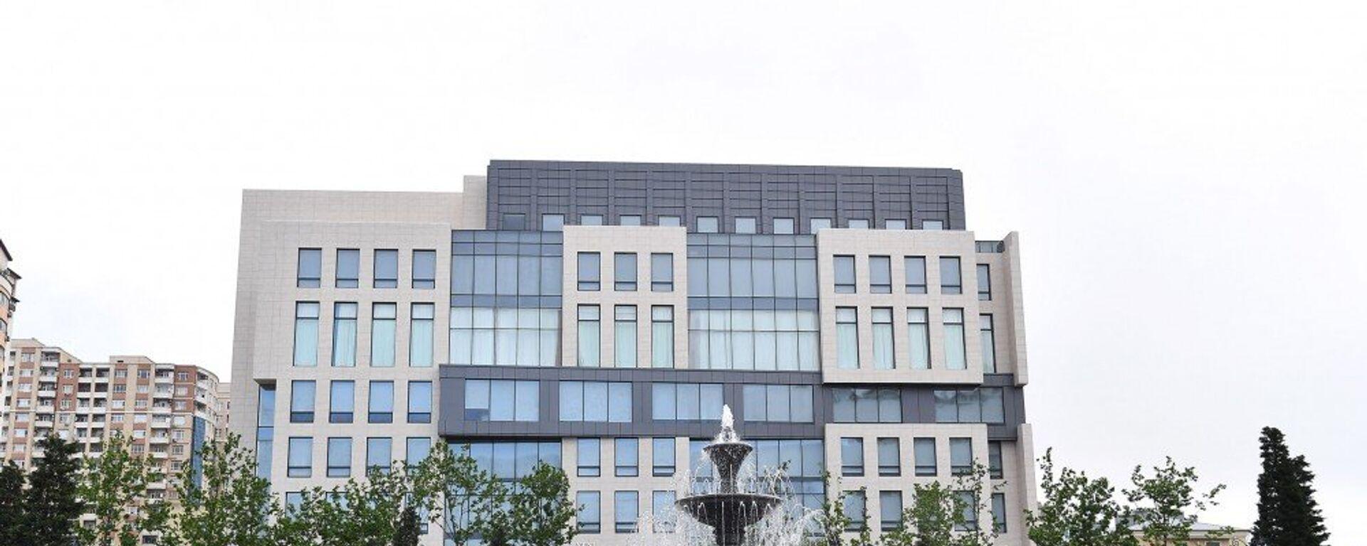 Новое административное здание партии Ени Азербайджан - Sputnik Азербайджан, 1920, 05.02.2021