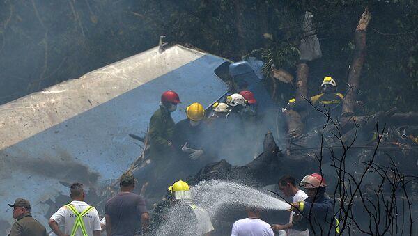 Самолет Boeing 737 авиакомпании Cubana de Aviacion с сотней пассажиров на борту разбился на Кубе - Sputnik Азербайджан