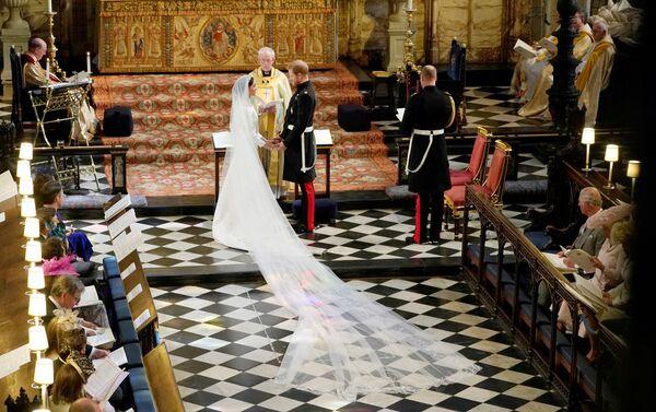 Свадьба британского принца Гарри и Меган Маркл - Sputnik Азербайджан