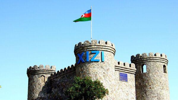 Въезд в Хызинский район - Sputnik Азербайджан