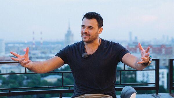 Известный исполнитель Эмин Агаларов - Sputnik Азербайджан