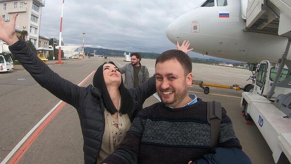 Сказочный Сочи, встречай наши чемоданы! - Sputnik Азербайджан
