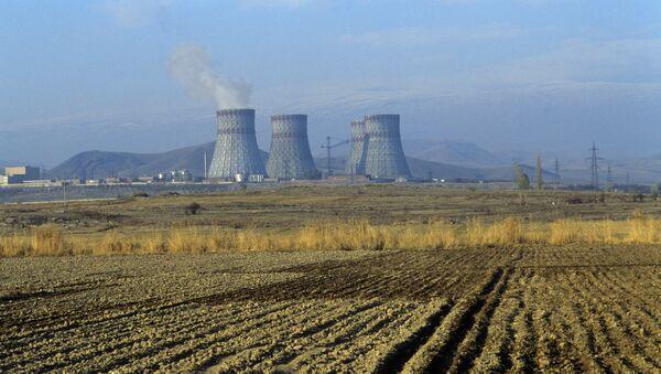 Армянская АЭС - атомная электрическая станция - Sputnik Азербайджан