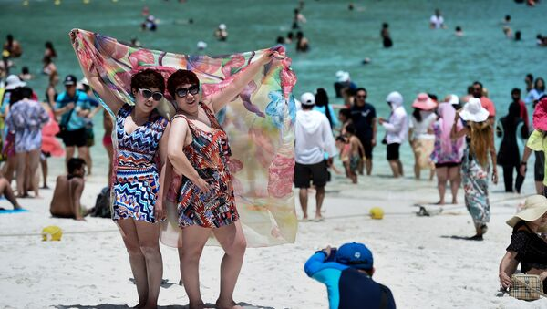 Туристы в Таиланде, фото из архива - Sputnik Азербайджан